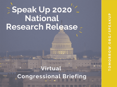 Speak Up 2020