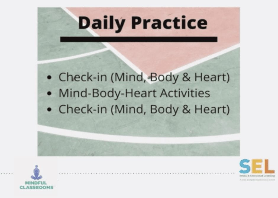 How Mindfulness Fits into Education in the Pandemic Era edWebinar image